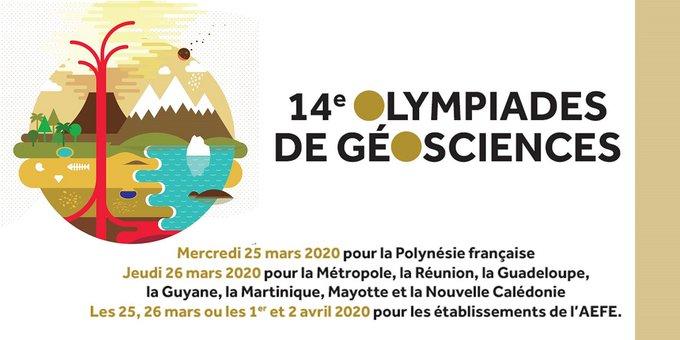 Olympiades académiques de géosciences 2020